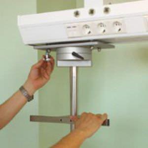 Ceiling-mounted supply beam system / modular Tor Tedisel Medical