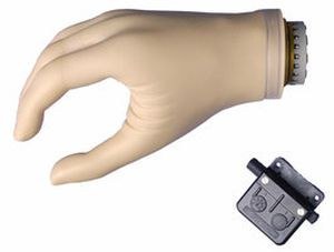 Hand prosthesis (upper extremity) / body-powered / hook clamp / adult DMC plus® Ottobock