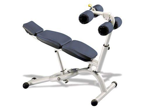 Abdominal crunch bench (weight training) / abdominal crunch / rehabilitation / adjustable Selection MED Technogym