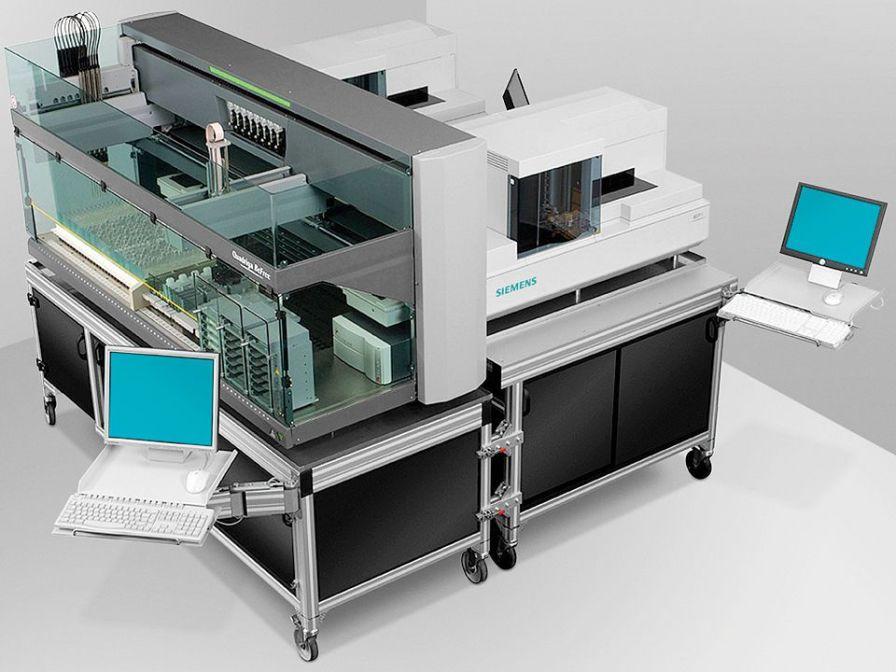Automatic immunoassay analyzer / with ELISA analyzer Quadriga BeFree® Siemens Healthcare