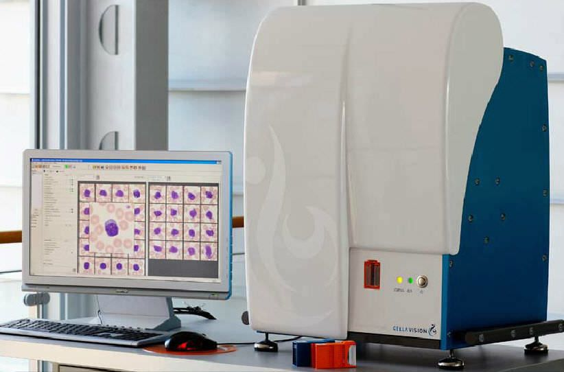 Hematology cell imaging system CellaVision® DM1200 Siemens Healthcare