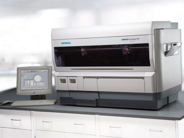 Automatic immunoassay analyzer / bench-top 180 tests/h   ADVIA Centaur® CP Siemens Healthcare