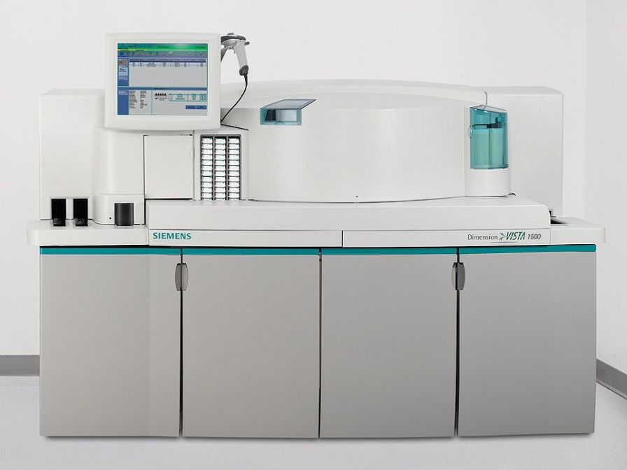 Automatic biochemistry and immunoassay analyzer / integrated system Dimension Vista® 1500 Siemens Healthcare
