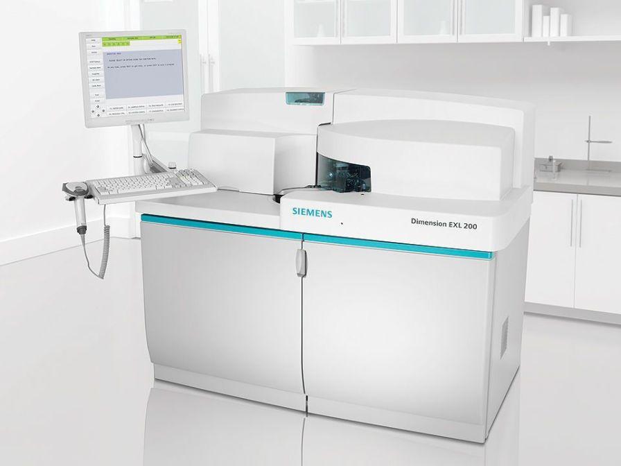 Automatic biochemistry and immunoassay analyzer / integrated system EXL™ 200 Siemens Healthcare