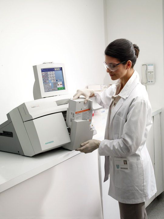 Blood gas analyzer RAPIDLab® 1200 Siemens Healthcare