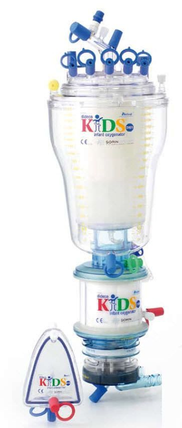 Infant extracorporeal oxygenator / diaphragm Kids D100 Sorin