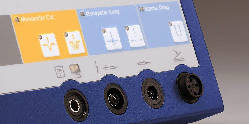 Monopolar coagulation HF electrosurgical unit / monopolar cutting / bipolar coagulation Minicutter KLS Martin Group