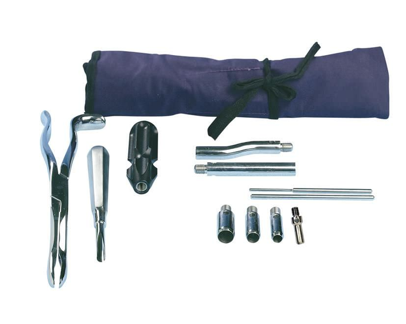 Veterinary dental extraction instrument kit EQUIVET 240756 Kruuse