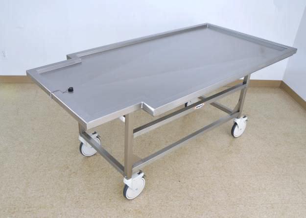 Autopsy cart / bariatric DC400 Mopec