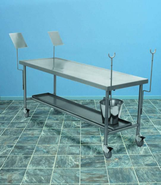 Dissection table / stainless steel HA200 Mopec