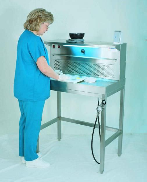 Suction fume hood / histopathology laboratory / bench-top BF500 Mopec