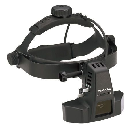 Indirect ophthalmoscope (ophthalmic examination) / headband 12500 series WelchAllyn