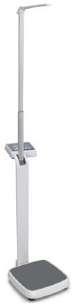 Electronic patient weighing scale / column type / with height rod / with BMI calculation 250 kg | MPE KERN & SOHN