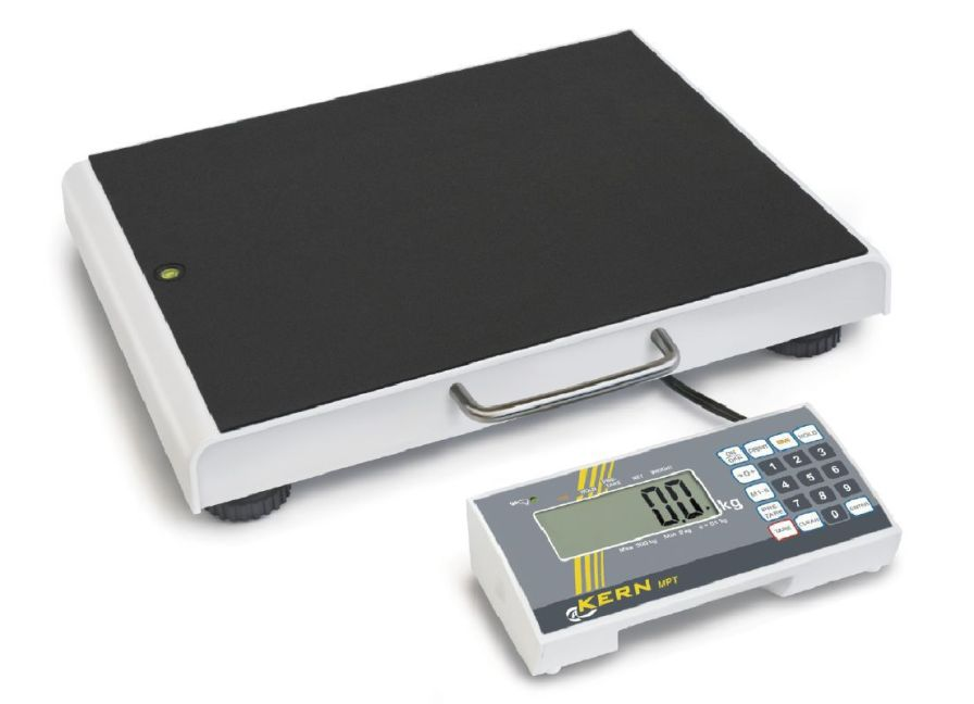 Bariatric patient weighing scale / electronic / with mobile display 300 kg | MPT KERN & SOHN