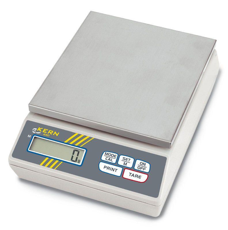 Laboratory balance / electronic 60 - 6000 g | 440 series KERN & SOHN