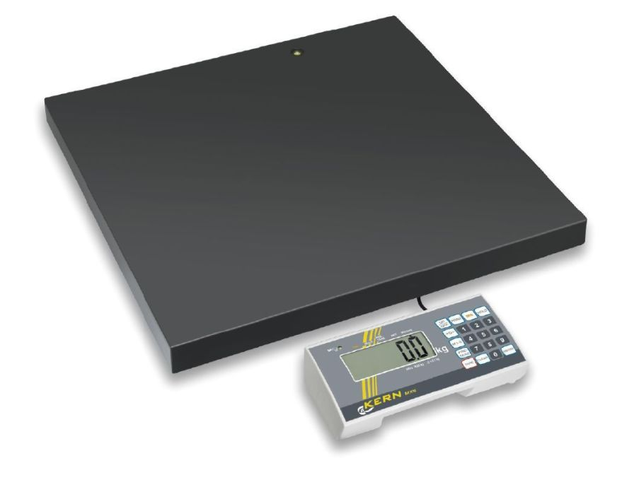 Bariatric patient weighing scale / electronic / with mobile display 300 kg | MXS KERN & SOHN