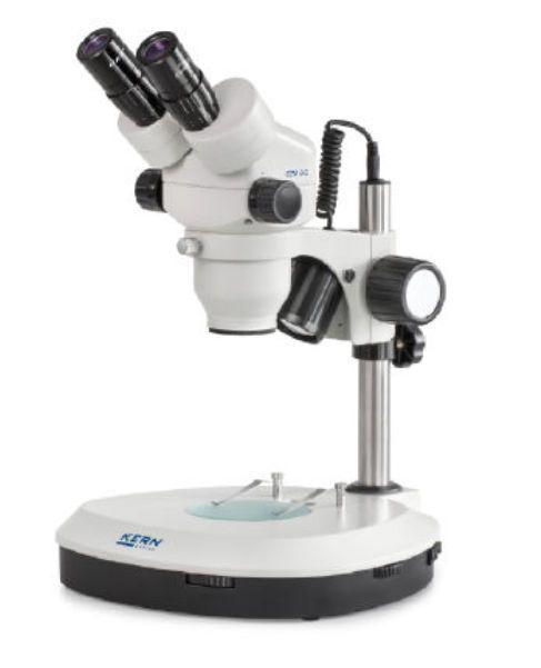 Teaching stereo microscope / biological / optical / trinocular OZO-5 KERN & SOHN