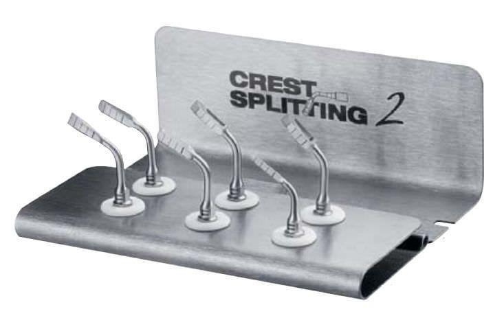 Dental surgery instrument kit Crest Splitting Satelec