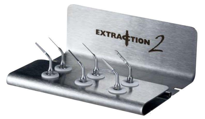 Dental surgery instrument kit Extraction Satelec