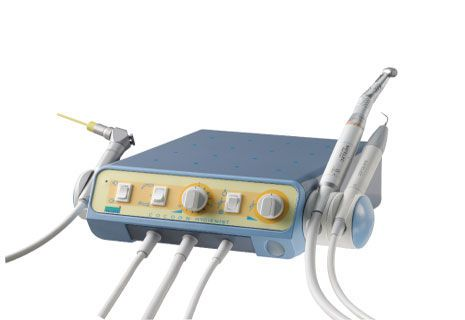 Dental prophylaxis micromotor control unit / with handpiece / complete set Cocoon Hygienist Led™ Satelec