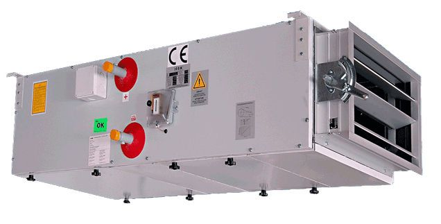 Air handling unit for healthcare facilities HSK