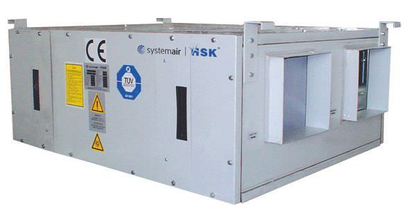Heat recovery system for healthcare facilities HSK