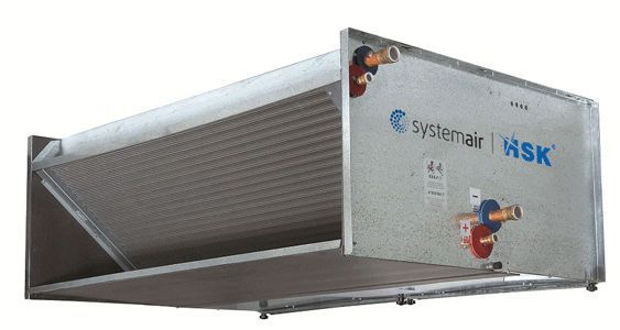 Duct fan coil unit / for healthcare facilities HSK