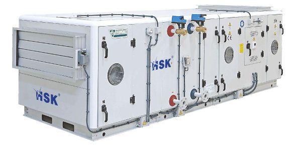 Air handling unit for healthcare facilities / modular 20,000 m³/h 6 | Flexline HSK
