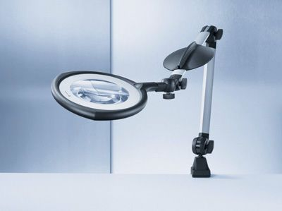 Magnifying examination lamp TEVISIO Waldmann