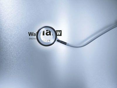 Magnifying examination lamp RING LED Waldmann