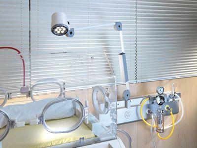 LED examination lamp 50 000 lux | HALUX® Waldmann
