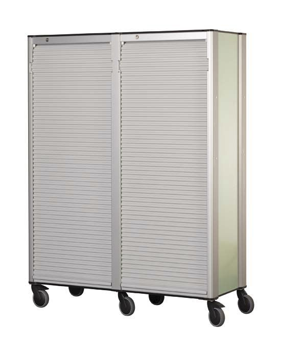 Storage trolley / distribution / double module / modular ZARGES