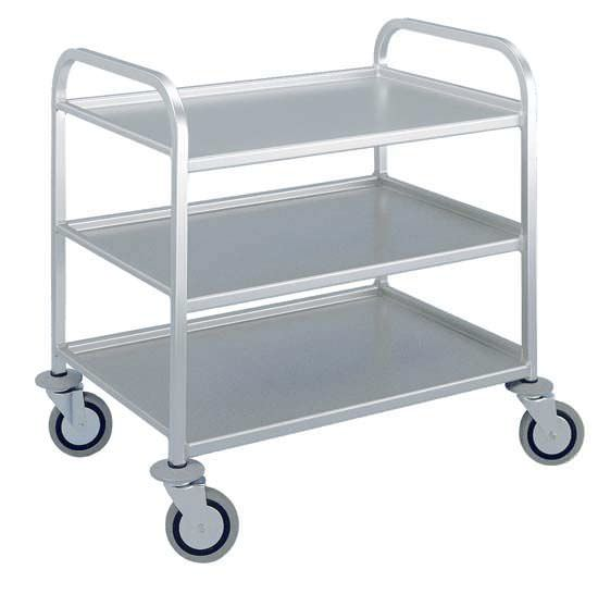 Multi-function trolley / meal / open-structure / 3-tray ZARGES