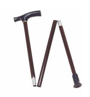 T handle walking stick / folding 42070 Chinesport