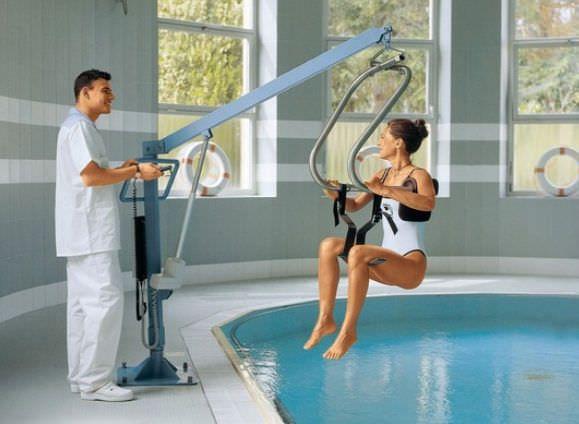 Pool patient lift 135 kg | 14250 - LIFTPOOL S Chinesport