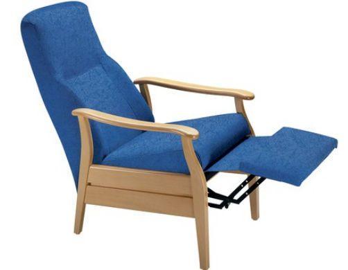 Reclining medical sleeper chair / manual 01189 - TINA Chinesport