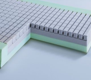 Hospital bed mattress / foam Comfort wissner-bosserhoff