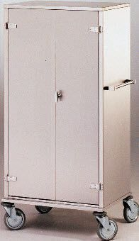 Medical cabinet / clean linen / for healthcare facilities / stainless steel 405.88 VILLARD