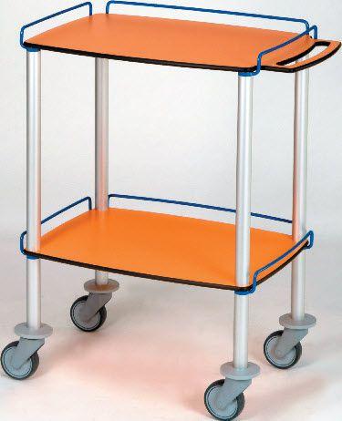 Treatment trolley / with drawer / 2-tray 302.73 VILLARD