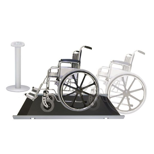 Wheelchair platform scale / multifunctional / electronic / with LCD display RW, RW-M WUNDER