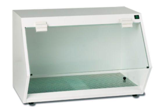 Suction fume hood / dental laboratory / bench-top MB1000 ZUBLER