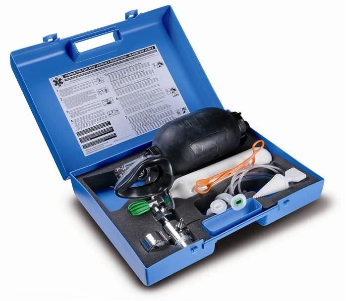 Cardiopulmonary resuscitation medical kit Speedy 2 TECNO-GAZ