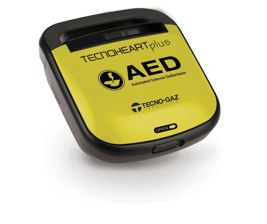 Semi-automatic external defibrillator Tecnoheart Plus TECNO-GAZ