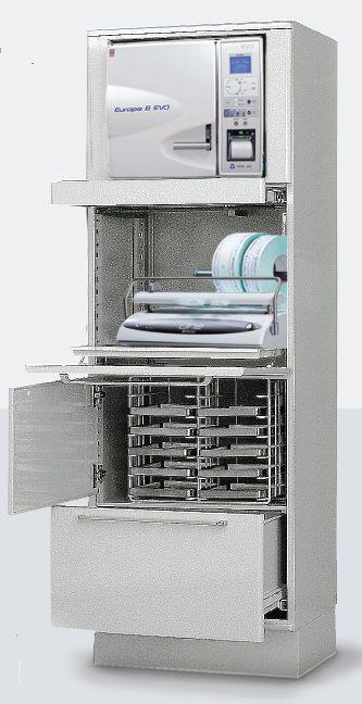 Sterilization cabinet / dentist office Steril Compact TECNO-GAZ