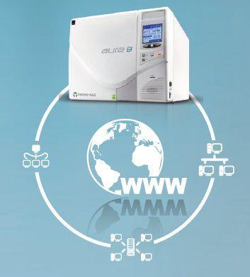 Dental autoclave / bench-top / programmable Aura B TECNO-GAZ
