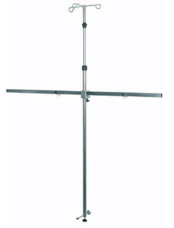 3-hook IV pole / rail-mounted 519110 TLV Healthcare