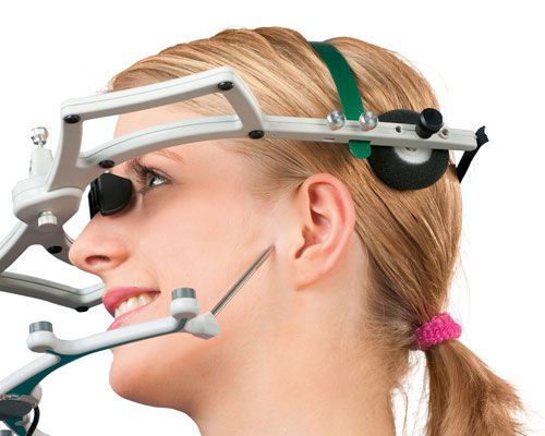 Digital dental facebow JMA zebris Medical