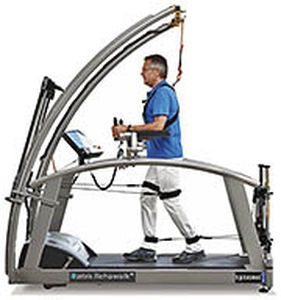 Walking rehabilitation system / computer-based Rehawalk® zebris Medical