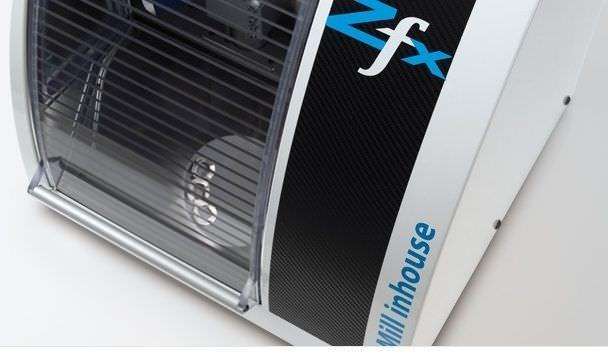 CAD/CAM milling machine / desk / 4-axis Zfx Mill inhouse Zfx
