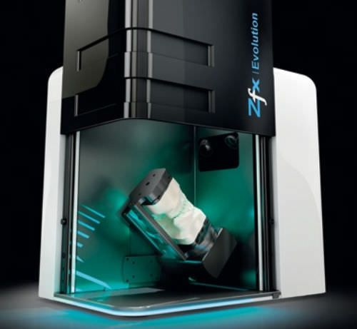 Dental laboratory dental CAD CAM scanner Zfx Evolution Zfx
